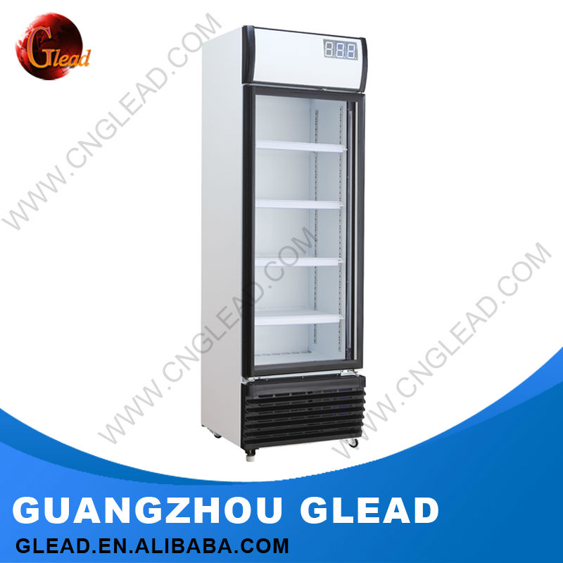 High Quality single door chocolate refrigerated showcase
