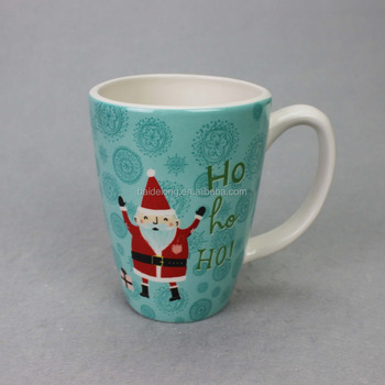 Coffee Ceramic Mug Funny Christmas Porcelain Tea Cup