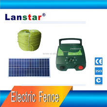 electric farm security product, fencing system for livestock, sheep management solar support pulse fence energizer