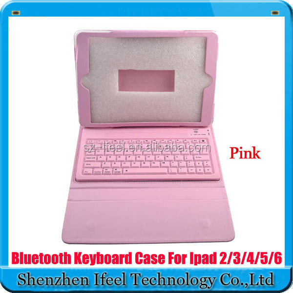 Ultrathin Bluetooth Keyboard Flip PU Leather Case Cover for iPad Air