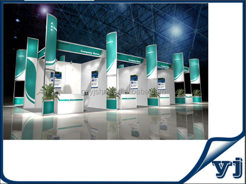 Exhibition Booth Equipment : Aluminium trade show booth aluminum stand for