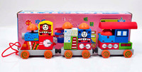 Thomas Wooden Train Building Blocks Set Toy