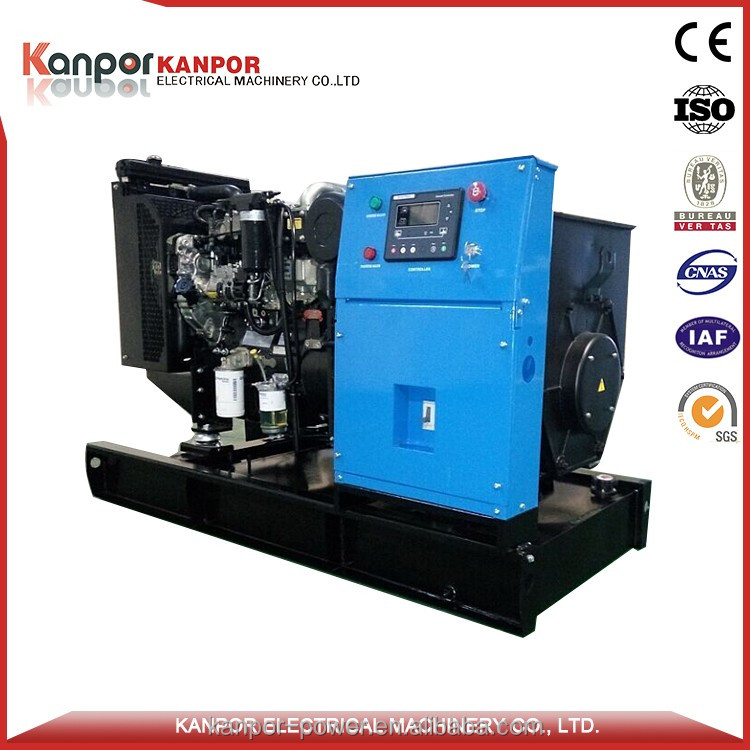 BV approved AC three phase motor 44KW/55KVA generator 220v