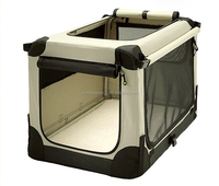 Dog Kennel pet carrier wholesale oxford thick steel tube shelf foldable big volume tent