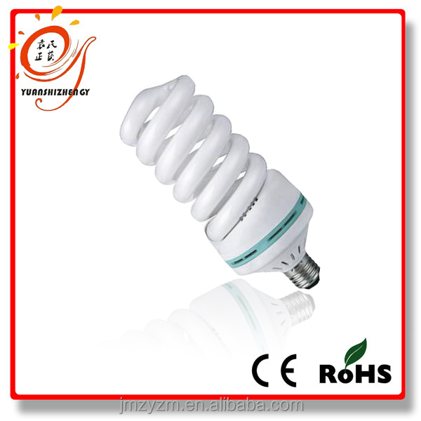 Full Spiral CE RoHS certification e27 b14 b22 e26 base energy saving lamp fluorescent bulb