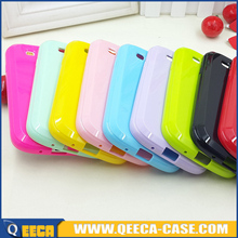 Candy color soft jelly tpu back cover case for samsung galaxy beam i8530
