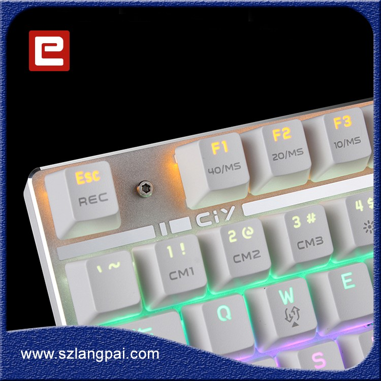 Beautiful Wired Gaming Keyboard Mouse With Colorful Backlit