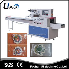 Multifunction Pillow Flow Packaging Packaging Machine for cards, cartoon cards, game cards etc.