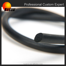 2015 New Customized high quality SBR Sponge rubber profile