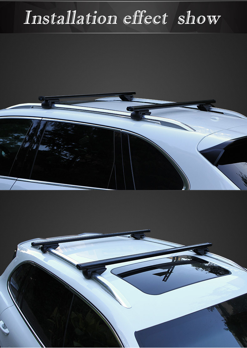 Upgrade high quality roof rack cross bars for Jeep Cherokee