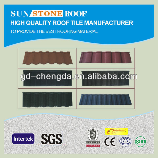 High Quality Sand Coated Metal Roof Panel/Hotel Materials