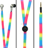 fancy mobile phone accessories colourful in-ear waterproof earphones china wholesale