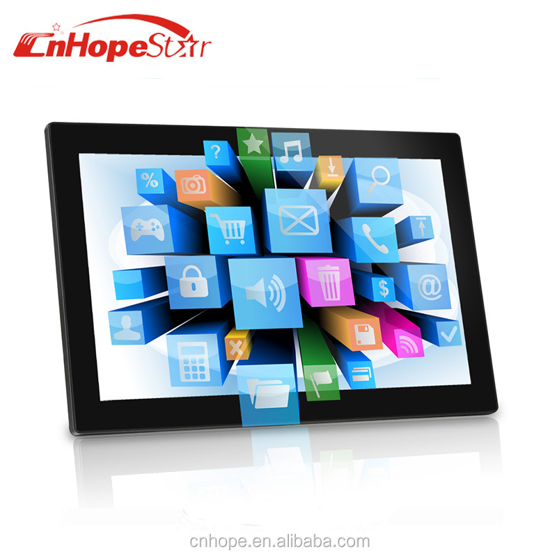 All in one touch screen pc 15 / 21.5 inch android tablet pc