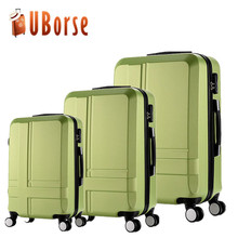 China wholesale pc travel trolley luggage oem abs luggage bag good quality draw-bar box hard shell suitcase for kids women