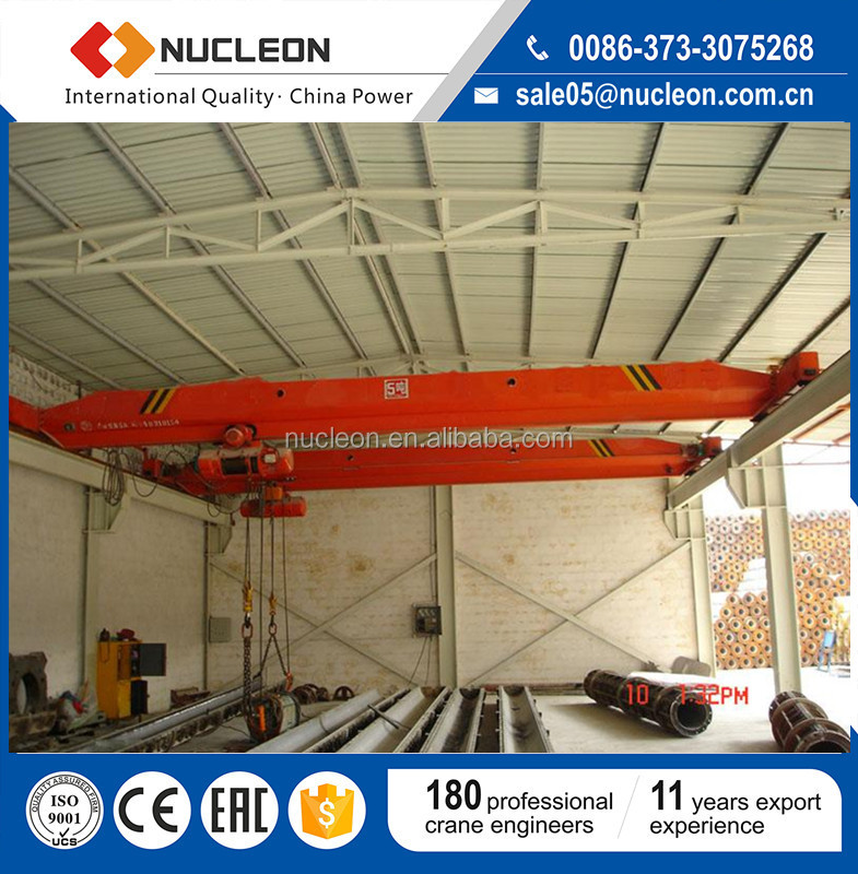 China Factory Sale 5Ton Electric Single Girder Overhead Total Cost