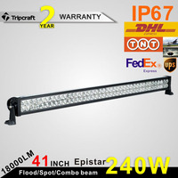 240W offroad led work light bar,Automobile led lighting,auto parts led driving lamp