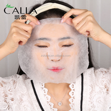 2017 New Product imports cosmetic silk peel face mask
