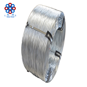 Hot dip galvanized fence wire full range of size first-class quality factory directly sell