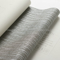 MU1007 fire resistant wallpaper for hotel decor fabric backed vinyl wallpaper