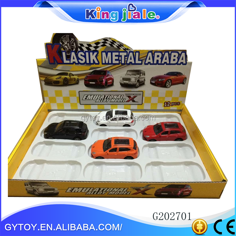 Wholesale 1:43 alloy diecast model car with metal car model factory