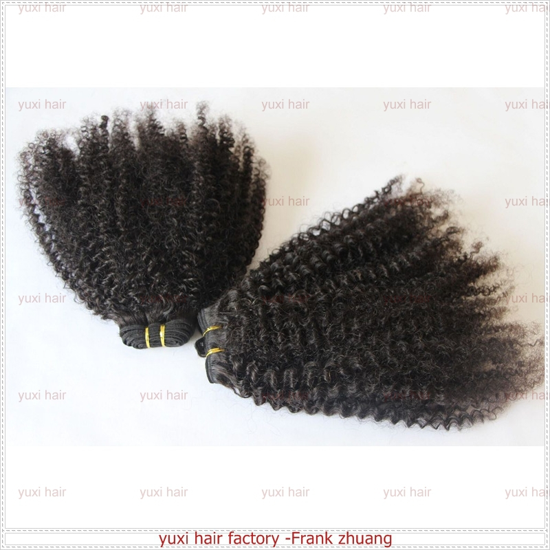 Fashion heatfree hair 3b 3c curly hair waving hair weft