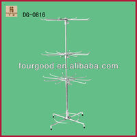 Display Equipments Metal Rotating Hanging Rack
