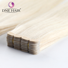 2017 New Arrival 100% Remy Human Hair Blonde #613 In Stock All Colors Available Tape In Hair Extensions