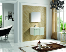 modern waterproof bathroom cabinet glossy