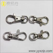 Wholesale high quality silver metal lobster claw snap hook for lanyards