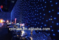 Romantic wedding low power supply led drapes