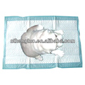 Disposable absorbent soft fabric pad