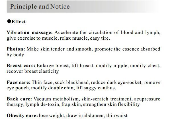 Digital Breast Beauty Equipment