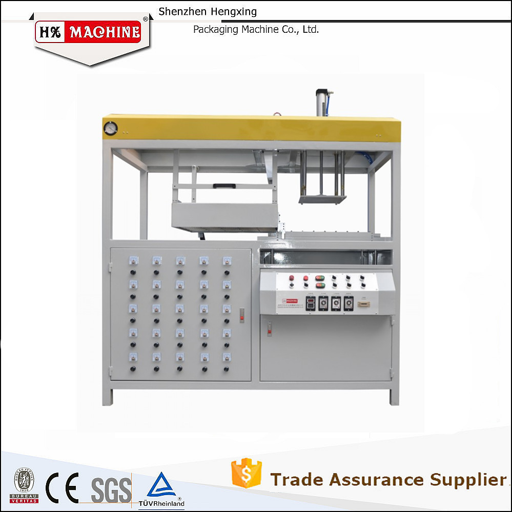 New Design Plastic Tray Vacuum Forming Former Machine