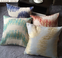 Yarn-Dyed Jacquard Massage Table Sofa Cushion Covers