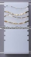 Wholesales Frost Acrylic Slatwall/wall Anklet/bracelet display