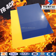 4mm PVDF Coating Fire resistant wall covers in Aluminum Composite Panel
