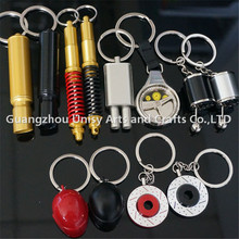 China Cheap wholesale high quality popular Auto Parts key chain/Electronic Spining Turbo /LED charging turbo tuning key chain