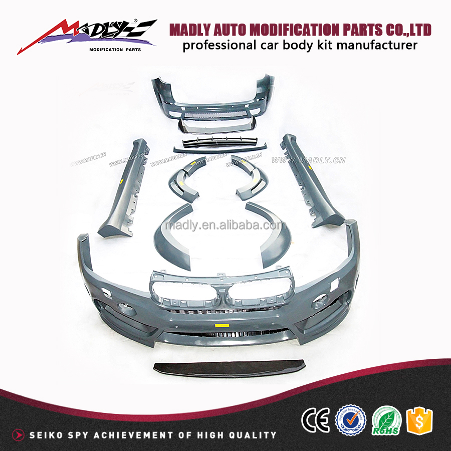 Car body parts for 2014-2015 body kit for BMW-F15 X5 TO X5M-LM style