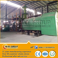 No pollution pyrolysis recycle waste plastic to furnace fuel oil