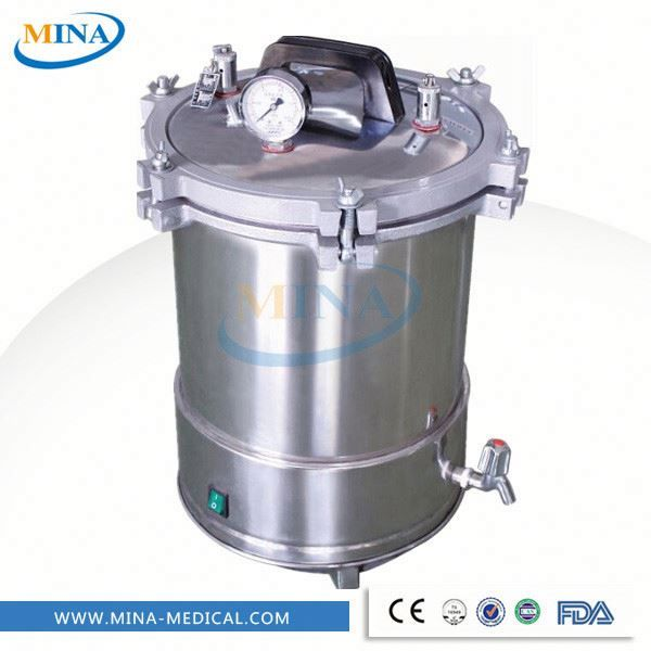 Hospital protable type stainless steel pressure steam sterilize