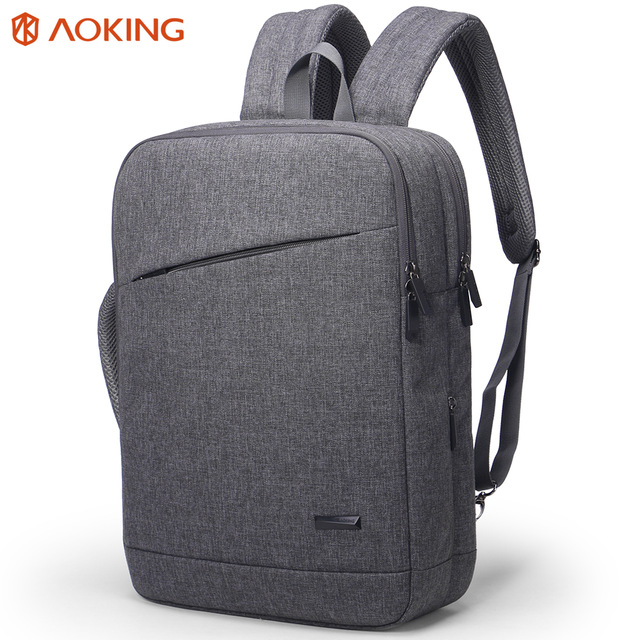 aoking ultra slim light portable eminent briefcase backpack laptop bag