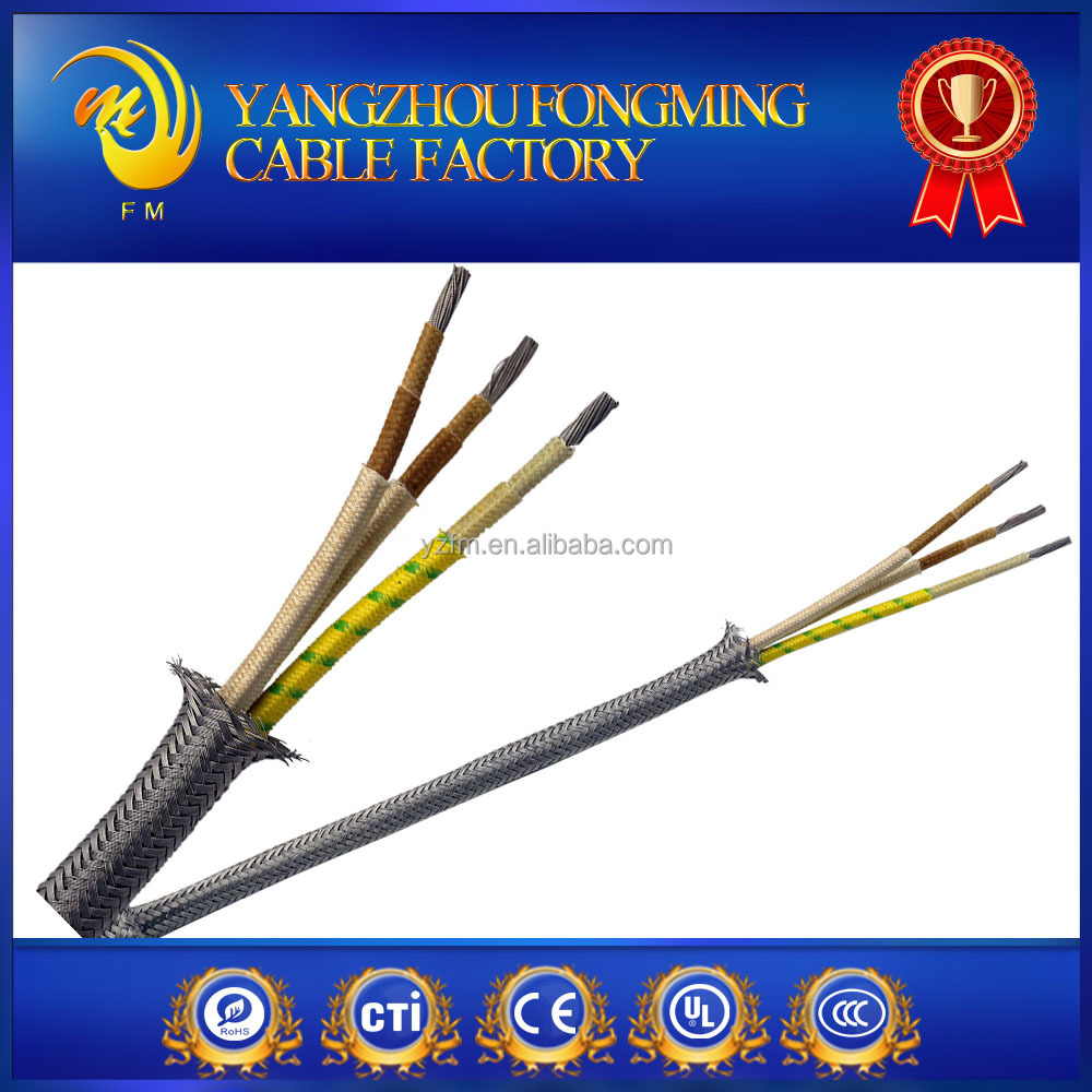 Metal shield cable silicone rubber insulated cable electrico