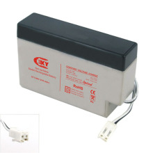 UPG UB1208 - AGM Battery - Sealed Lead Acid - 12 Volt - 0.8 Ah Capacity - WL Terminal