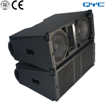 Full Range Dual 10 Inch Line Array 300 Watt High Power Speaker Array LC210 High Efficiency Driver Configuration