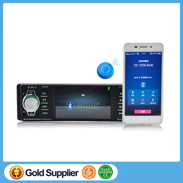 4.1 inch Auto car mp4 mp5 dvd player manual with fm modulator radio receiver usb sd bluetooth enabled