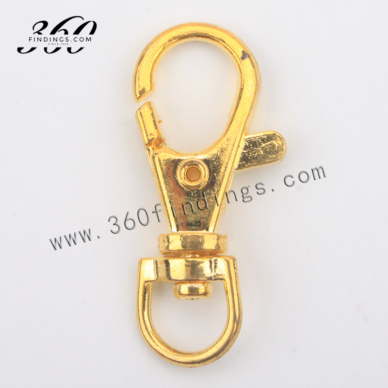 jewelry making gold findings halter large snap hook