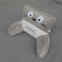 Cats shaped inflatable bed rest pillow for children