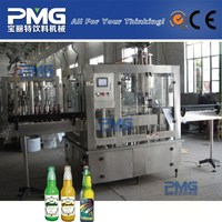 Beer Bottling Machine With Washer Filler