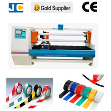 Automatic high speed PVC log roll tape cutting machine