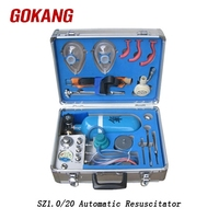 MZS30 coal mining rescue equipment automatic resuscitator, oxygen resuscitator, resuscitation kit
